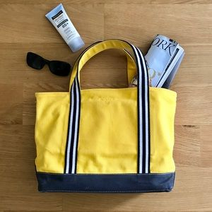 Gant Yellow Canvas Tote